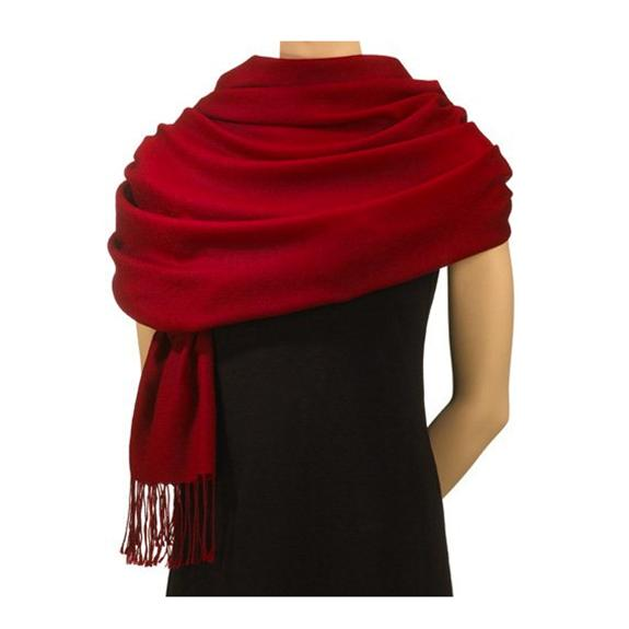 Red Pashmina Scarf - - Shop the American Diabetes Association Gift of Hope Catalog #ad