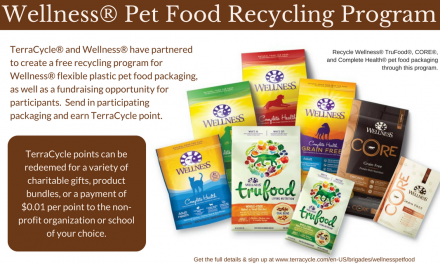 Earn Cash for Your School or Org with the #WellnessPetFood Recycling Program