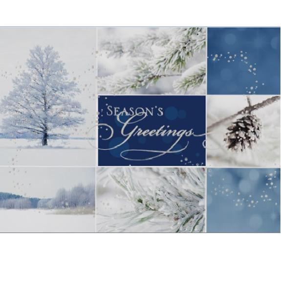 Winter's Collage - one of many boxed sets of Christmas cards - Shop the American Diabetes Association Gift of Hope Catalog #ad