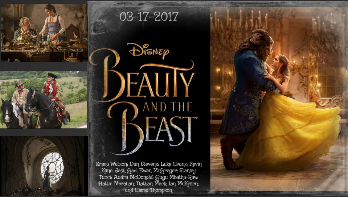 2017 Live Action Beauty And The Beast In Theatres 3 17 2017