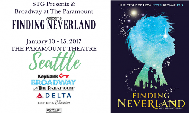 Seattle Paramount FINDING NEVERLAND offers Imaginative Family-Friendly Entertainment @stgpresents