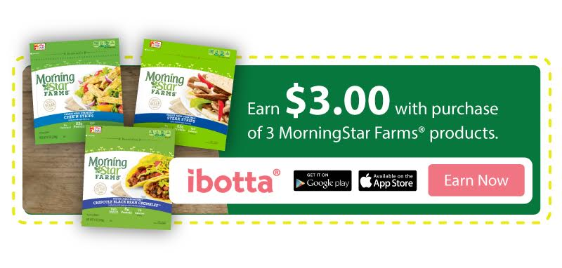 MorningStar Farms & Walmart ibotta offer - good through January 31, 2017 - ad