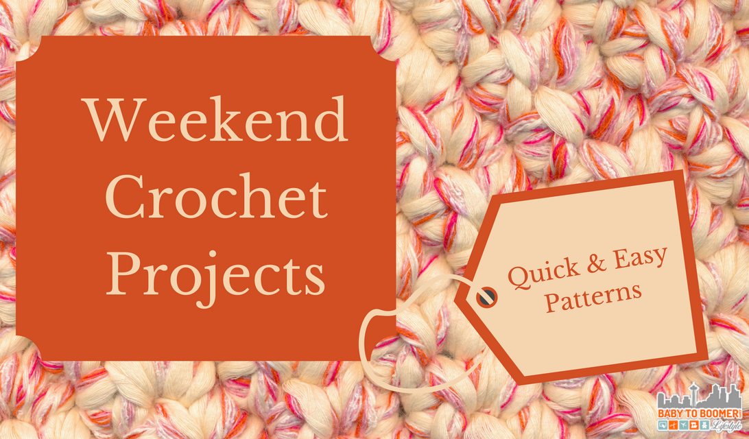 quick crochet projects Go big with chunky yarn crochet you will love this collection of patterns for cool  accessories to gorgeous oversized home decor items including a moroccan.