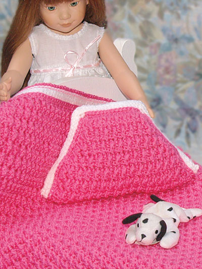 Annabelle's Doll Afghans - for 15- and 18-inch Dolls aff