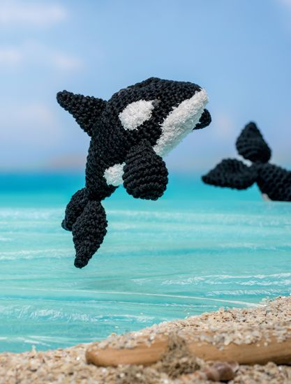 Killer Whale - Bathtime-Buddies - 20 Crochet Animals from the Sea