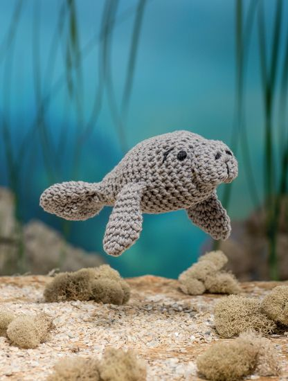 Manatee - Bathtime-Buddies - 20 Crochet Animals from the Sea