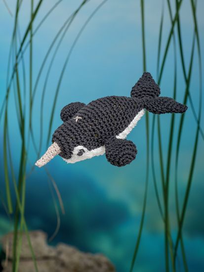 Narwal - Bathtime-Buddies - 20 Crochet Animals from the Sea