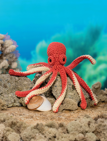 Octopus - Bathtime-Buddies - 20 Crochet Animals from the Sea