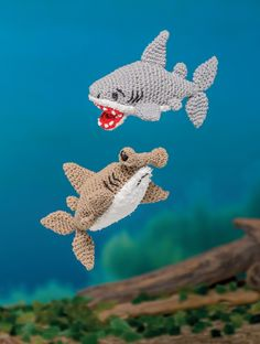 Sharks - Bathtime-Buddies - 20 Crochet Animals from the Sea