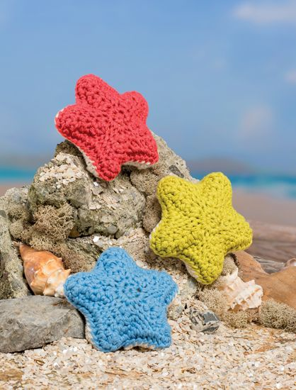 Starfish  - Bathtime-Buddies - 20 Crochet Animals from the Sea