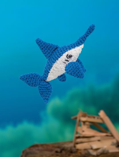 Sword Fish - Bathtime-Buddies - 20 Crochet Animals from the Sea