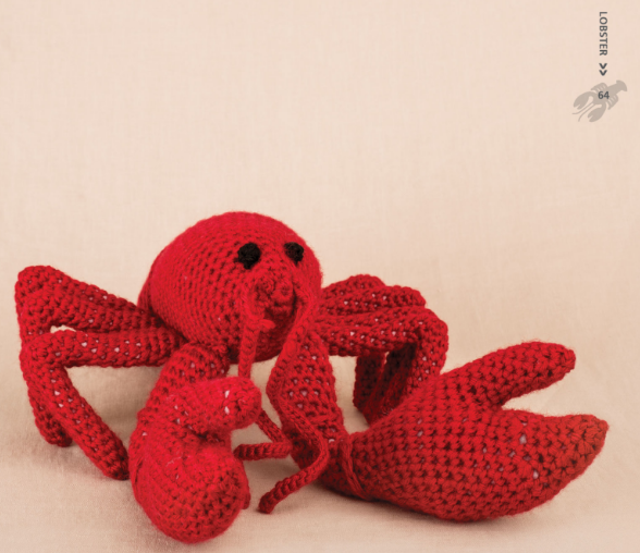 Lobster - Crochet Sea Animals