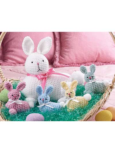 Best Free Easter Crochet Patterns Including Easter Eggs Bunny