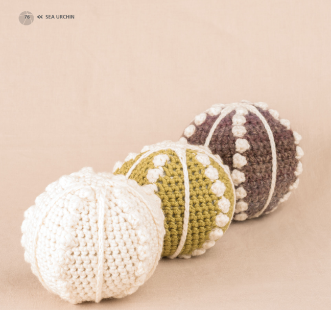 Sea Urchin - Crochet Sea Animals