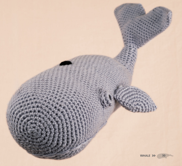 Whale - Crochet Sea Animals