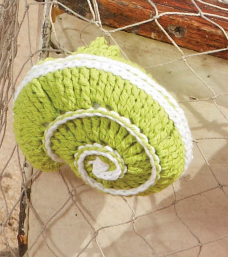Shell (Coiled Shell) Free Amigurumi Crochet Pattern