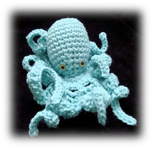 Octopus by Jaylee's Toy Box - Free Amigurumi Crochet Pattern