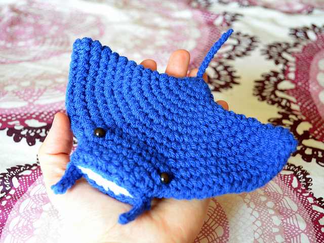 Manta Ray by Patricia Castillo - Free Crochet Pattern