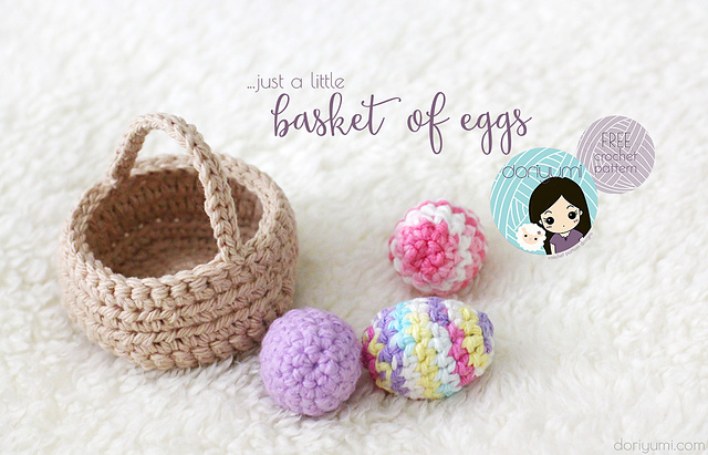 Free Pattern Crochet Easter Basket : Best FREE Easter Crochet Patterns including Easter Eggs ...