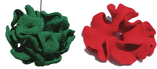 Hyperbolic Crochet Pattern - Hyperbolic Plane Variations from crochetcoralreef.org