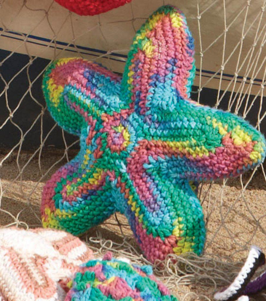 Crochet coral reef marrying a love for math coral and art starfish free amigurumi crochet pattern bankloansurffo Images