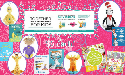 Buy Dr Seuss Books and Plush for $5 & Kohl's Will Donate to Kids in Need!