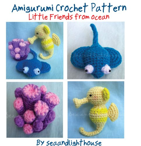 Little Friends From Ocean Crochet Pattern
