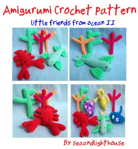 Little Friends From Ocean II Crochet Pattern