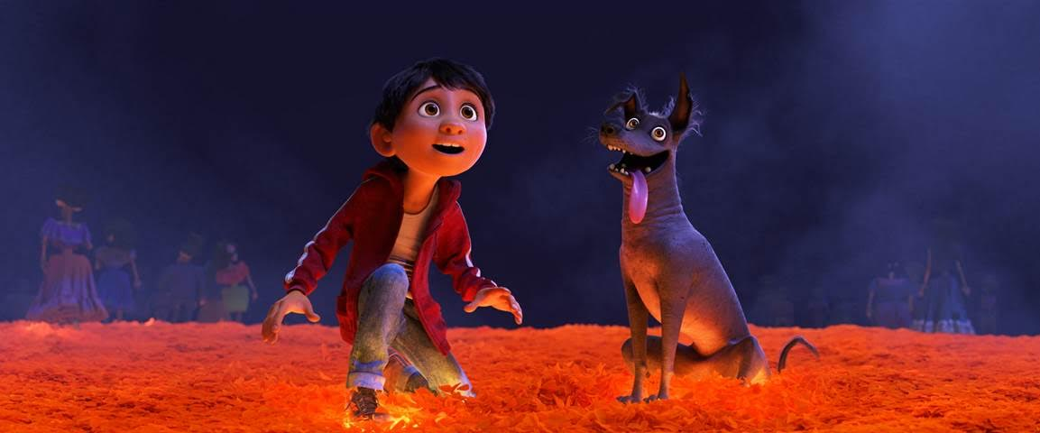 COCO - Aspiring musician Miguel teams up with charming trickster Hector on an extraordinary journey through the Land of the Dead. Disney / Pixar COCO In theaters November 22, 2017
