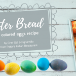 Easter Bread with Colored Eggs Recipe from Patsy's Italian Restaurant
