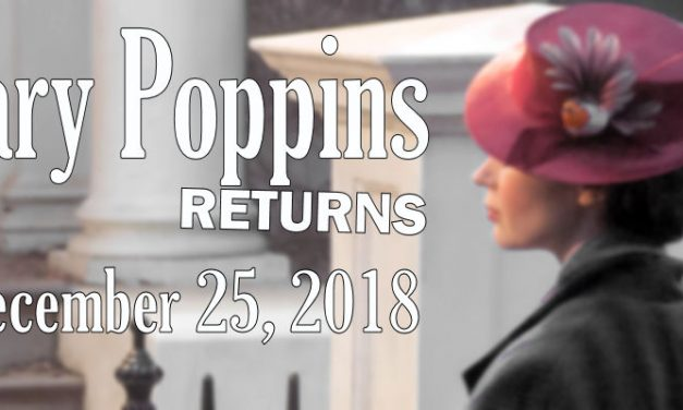 MARY POPPINS RETURNS: First Look at Emily Blunt in Costume
