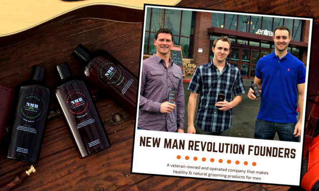 New Man Revolution: Natural Grooming Products for Men #vetrepreneurs #NMR @NewManRev