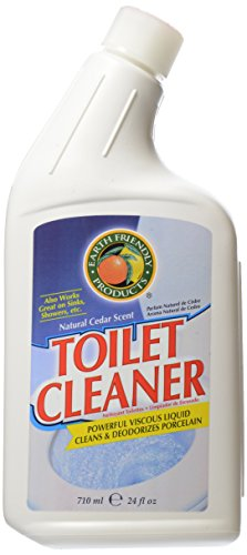 Earth Friendly Products Toilet Cleaner, Natural Cedar Scent - Guide to Healthy Cleaning: Top Products & Scary Ingredients to Avoid
