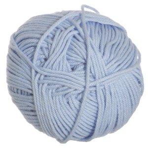 Fun Easter Basket Crochet Patterns - Free & Paid - Rowan Handknit Cotton Yarn 345 Cloud - 50% cotton/50% wool - baby blue