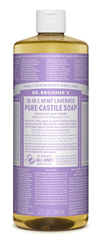 Dr. Bronner's Pure-Castile Soap, Lavender - Guide to Healthy Cleaning: Top Products & Scary Ingredients to Avoid