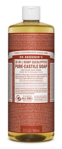 Dr. Bronner's Pure-Castile Soap, Eucalyptus - Guide to Healthy Cleaning: Top Products & Scary Ingredients to Avoid