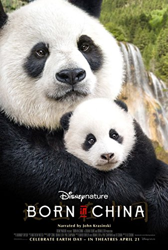 Disneynature Born in China Movie Poster - Pandas