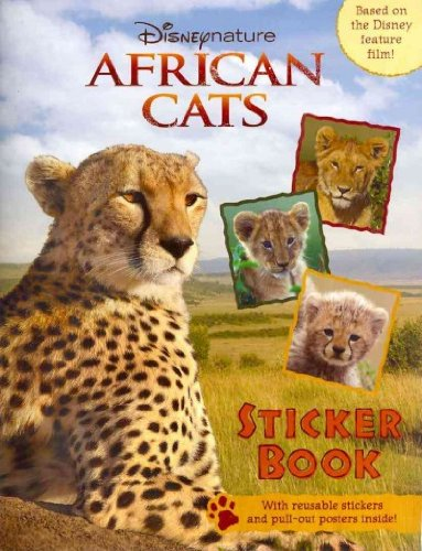 African Cats: African Cats Sticker Book (Disneynature African Cats)