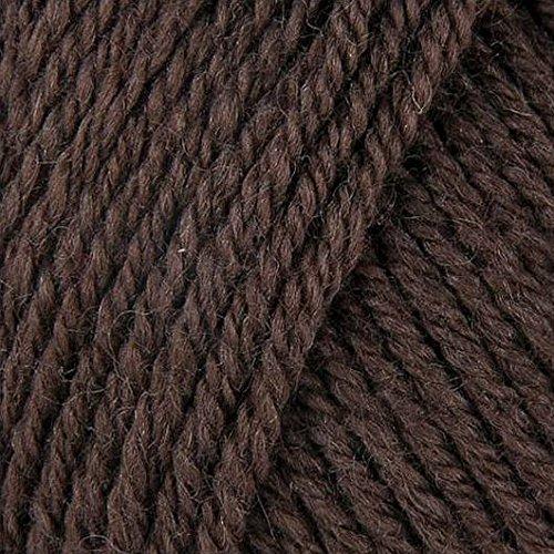 Fun Easter Basket Crochet Patterns - Free & Paid - Rowan Wool Cotton 4ply 510 Bark - 50% Cotton/50% Woold - Dark Brown