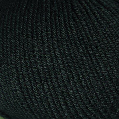 Fun Easter Basket Crochet Patterns - Free & Paid - Rowan Wool Cotton 4 Ply Yarn Inky 497 - 50% cotton/50% wool - black