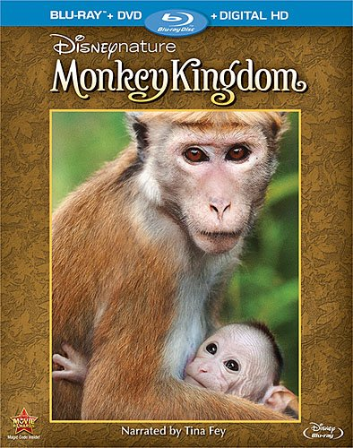 Disneynature: Monkey Kingdom [Blu-ray] - Narrated by Tina Fey