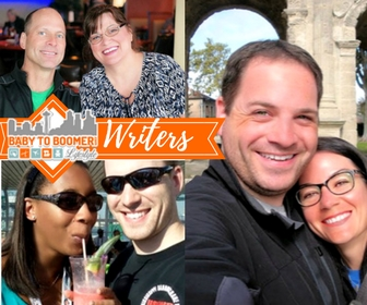 The writers at BabytoBoomer.com - Steve & Connie (the boomers), Alex & La the millennials with a 1-year old baby girl, and Brian and Mary Beth world travelers with a double income and no kids.