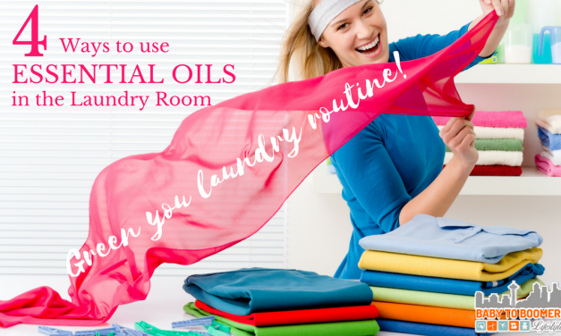 4 Ways to use Essential Oils In the Laundry Room