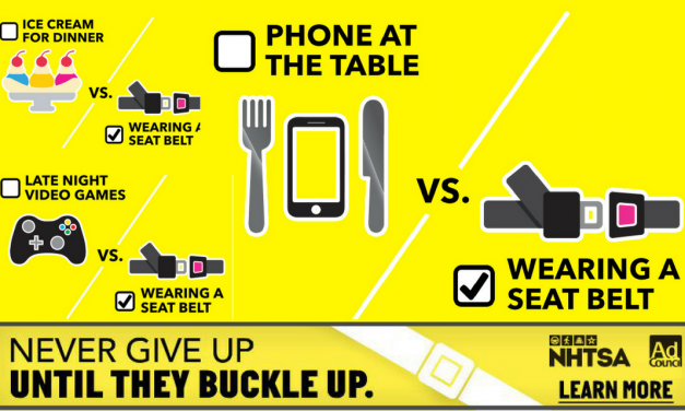 From Car Seat to Seat Belt – Never Give Up Until They Buckle Up! #KidsBuckleUp