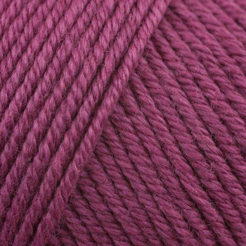 Fun Easter Basket Crochet Patterns - Free & Paid - Rowan Wool Cotton 4 Ply Yarn Flower 485 - 50% cotton/50% wool - Pink