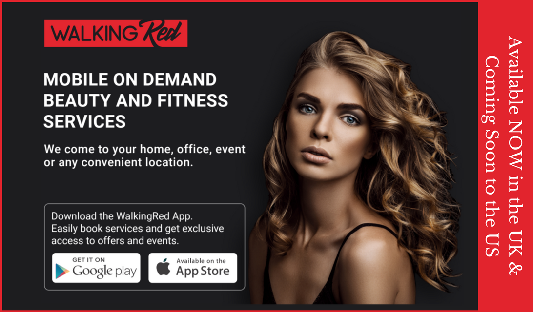 WalkingRed: Your Mobile On Demand Beauty and Fitness Service