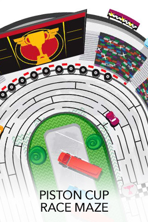 Disney/Pixar CARS 3 - Details & Downloadable Activity Sheets #Cars3 - Cars 3 Piston Races Maze Activity Sheet - Free downloadable & Printable