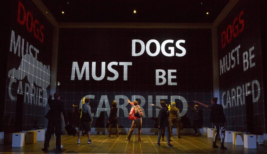 *CuriousTour0016r – Maria Elena Ramirez as Siobhan, Gene Gillette as Ed and Adam Langdon as Christopher Boone in the touring production of The Curious Incident of the Dog in the Night-Time. Photo: Joan Marcus.