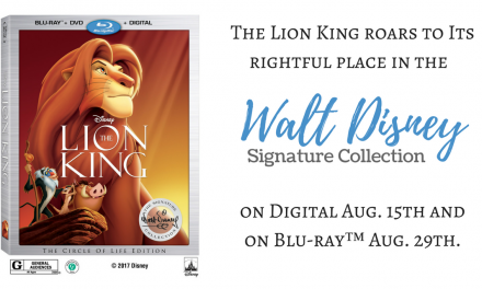 Disney Announces The Lion King WD Signature Collection Release Date