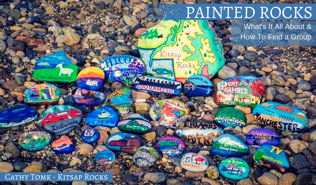 Painted Rocks Whats It All About How to Find a group to join